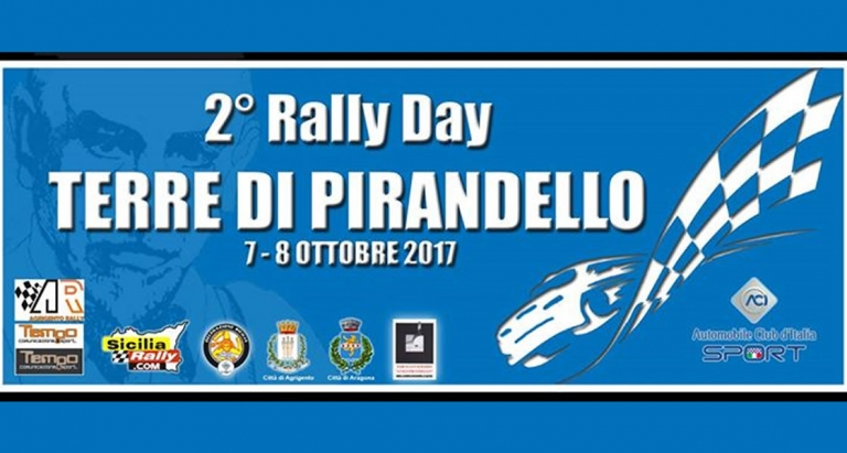 2° Rally Day Terre Di Pirandello - 7 e 8 Ottobre 2017 Agrigento